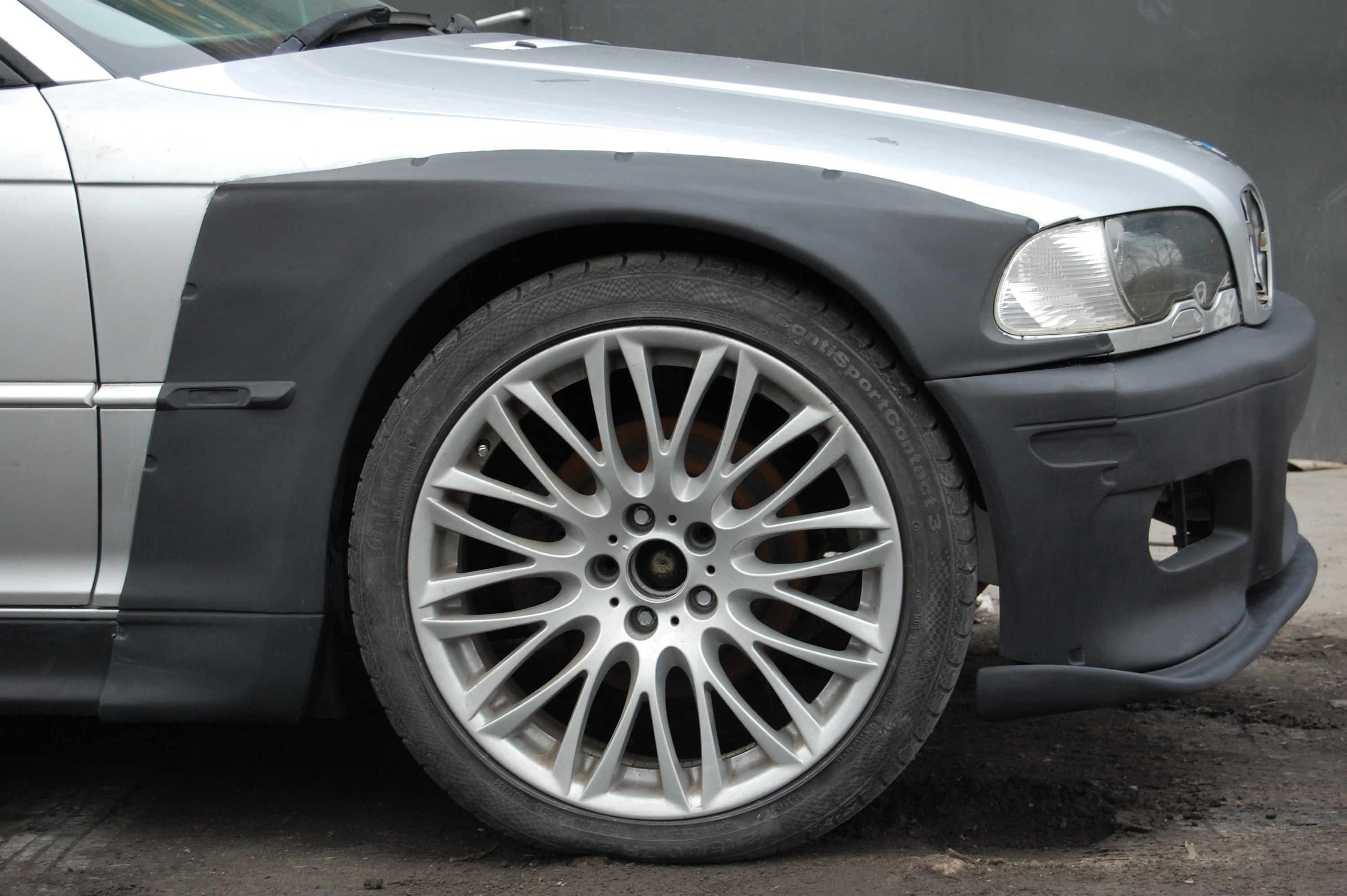 E46 M3 Front Overfenders Widebody V2 Shop Abmax Adam Litwiniak