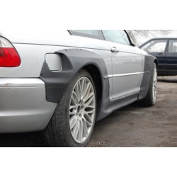 e46 M3 rear overfenders WIDEBODY V2