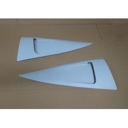 s13 rear quarter window louvers