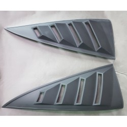 s13 rear quarter window louvers NO3